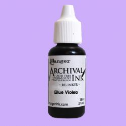 Ranger Archival Re-Inker, Blue Violet